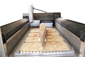 Frästeil aus Massivholz